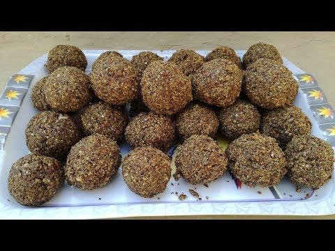 Alsi Pinni Recipe | Alsi ke laddu | Flax seeds laddoo | Village Style | Village Food Secrets