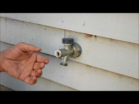 How to Fix Anti Siphon Valve on Faucet