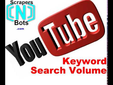how to get idea of YOUTUBE KEYWORD SEARCH TRAFFIC VOLUME