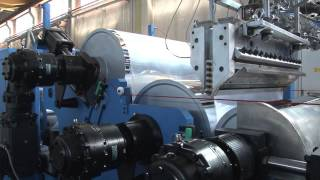 PET, PS & PP CO-EXTRUSION SHEETING LINE
