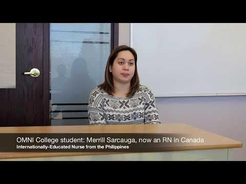 RN from the Philippines - Merrill - isa ng RN sa Canada (spoken in TAGALOG)