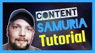 Content Samurai Review   Video Creation Tutorial