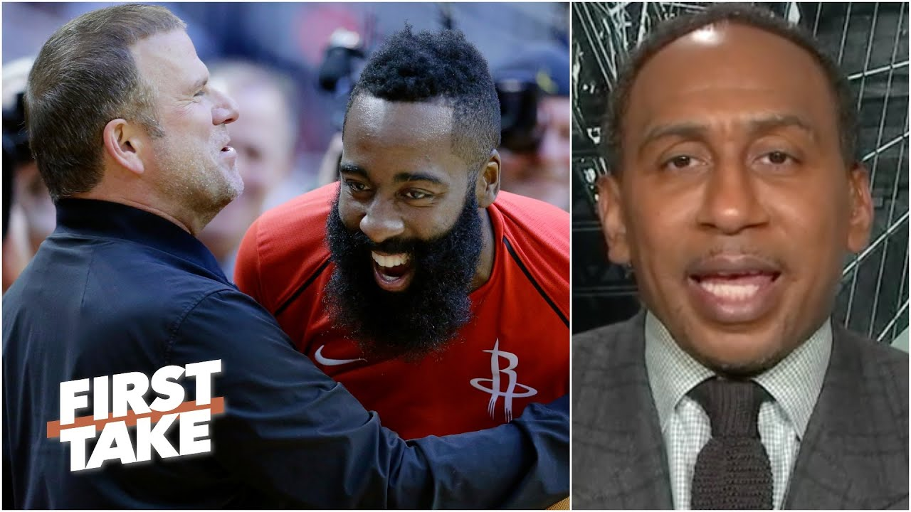 Who looks worse: James Harden or the Rockets? | First Take