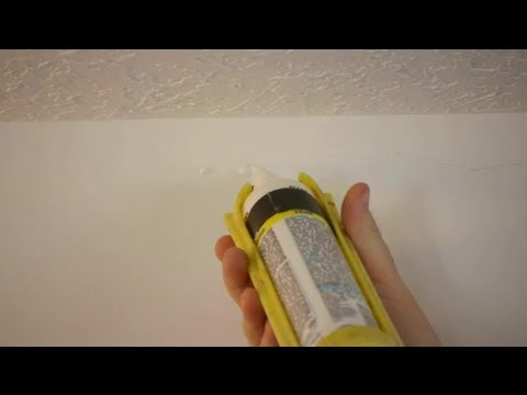 How to Fix Cracks in Plaster With Latex Caulk : Caulking Tips