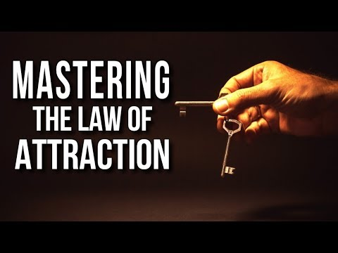 The Key to MASTERING The Law of Attraction! Take Back Your Power & Create What You Want-Affirmations