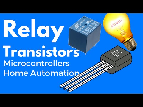 Simple Transistor relay circuit | Transistor as a switch