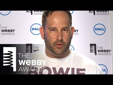Mekanism's 5-word speech at the 18th Annual Webby Awards