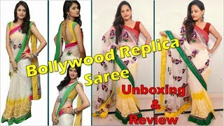 163a628c3b45de Amazon Saree Review, Unboxing & Try On Haul | Net Saree Haul & Review