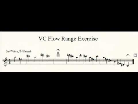 Trumpet Practice: Upper Register Range Exercise