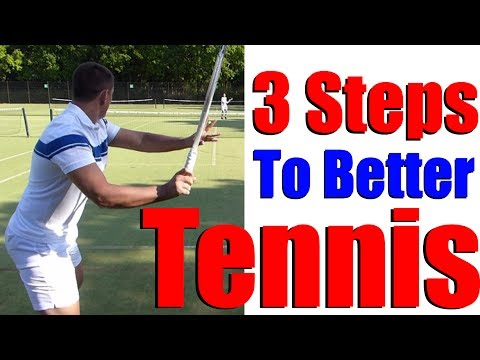 How To Play Better Tennis In 3 Steps - A Must See Tennis Lesson