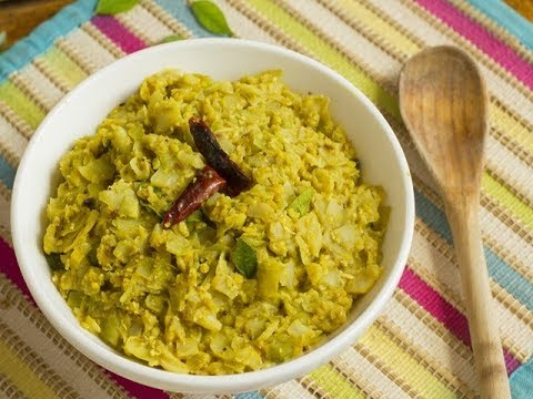 Cabbage Kootu/ South India/ Healthy recipes