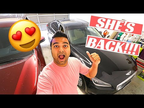 FINALLY Got My CAR BACK!!  COOL Night Time Review!! (GENESIS)