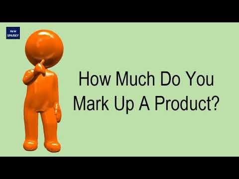 How Much Do You Mark Up A Product?