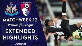 Newcastle United v. Bournemouth | PREMIER LEAGUE HIGHLIGHTS | 11/09/19 | NBC Sports