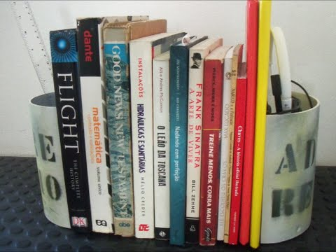PVC PIPE BOOKEND
