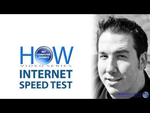 How to Test Your Internet Connection Speed!