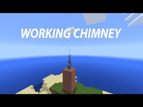 How to make working chimney - Minecraft PE