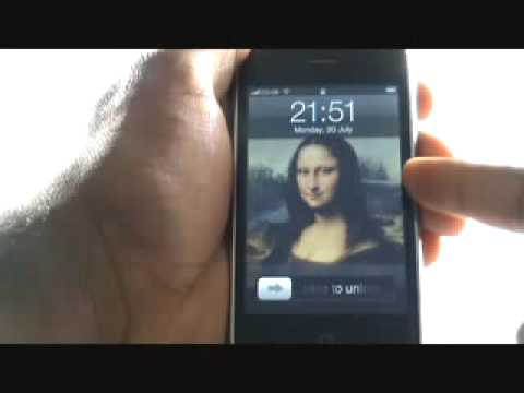Changing your Wallpaper | Apple iPhone 3G | The Human Manual