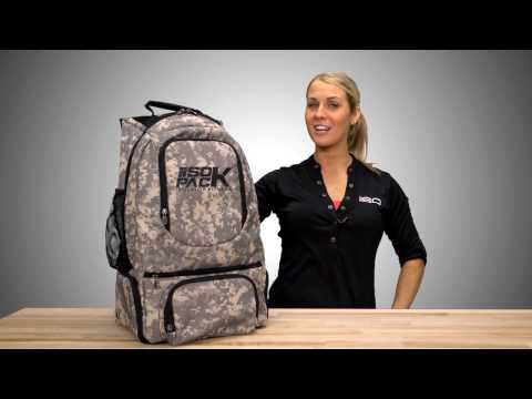 Isopack Military Color Backpack by Isolator Fitness