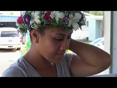 Hawaiian Head Lei (Haku) making in 4K