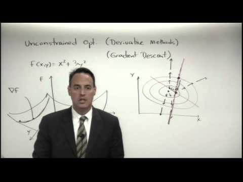 Lecture: Unconstrained Optimization (Derivative Methods)
