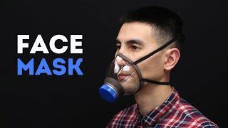 DIY face mask out of plastic bottle