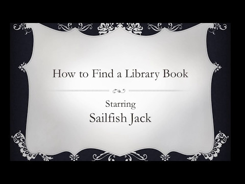 How to Find a Library Book