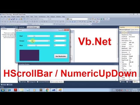 Working with Scroll Bars-Apply millions of Colors on VB Form [Beginners]