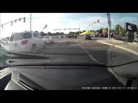 Multiple unexpected red light runners