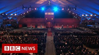 Liberation of Auschwitz, 75 years on - BBC News