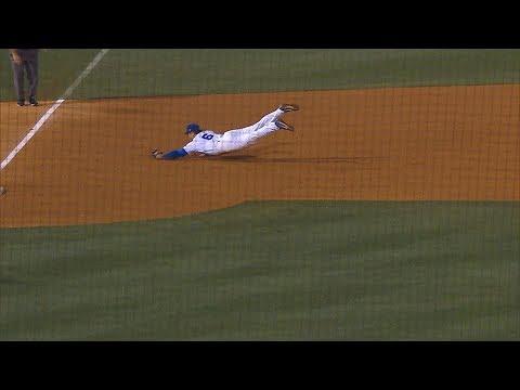 Florida Baseball: Jonathan India Diving Play