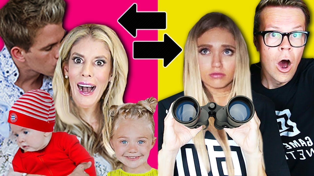 Switching HUSBANDS 24 HOUR CHALLENGE w/ the Labrant Fam! | Rebecca Zamolo