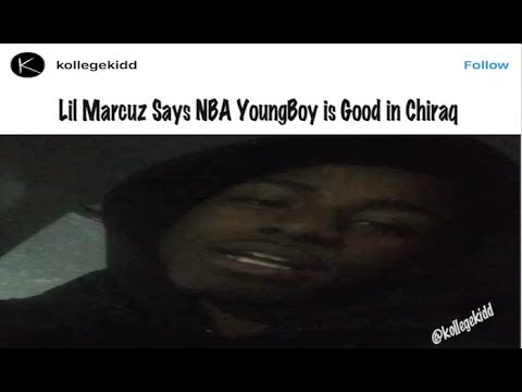Chicago Rapper Lil Marcuz Says NBA Youngboy Is Good In Chiraq After Lenox Mall Incident
