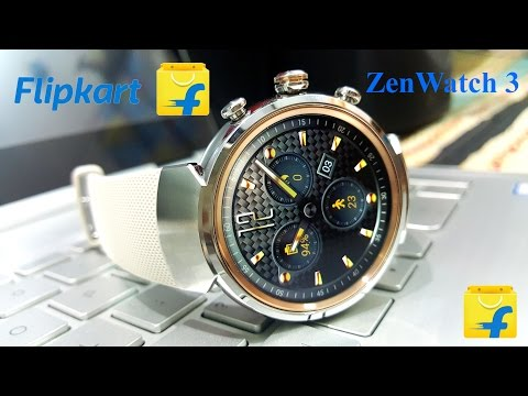 Asus ZenWatch 3 Flipkart Packing Unboxing [Hindi]