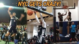 NYC Basketball Is A Different BEAST! Top Players Play For BRAGGING RIGHTS 😱
