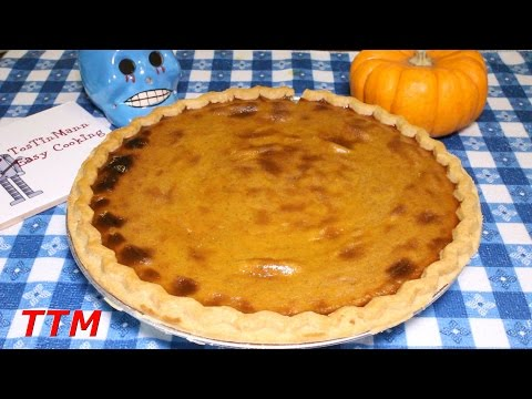 Can You Bake a Pie in a Toaster Oven?~Easy Pumpkin Pie Recipe~Thanksgiving Pumpkin Pie