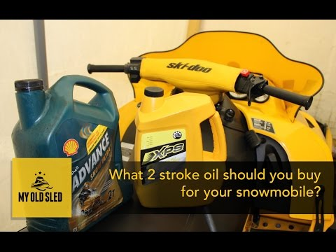 Which 2 stroke oil should you buy for your Snowmobile?