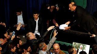 تشیع پیکر اکبر هاشمی رفسنجانی با حضور هزاران تن از مردم و مقامات