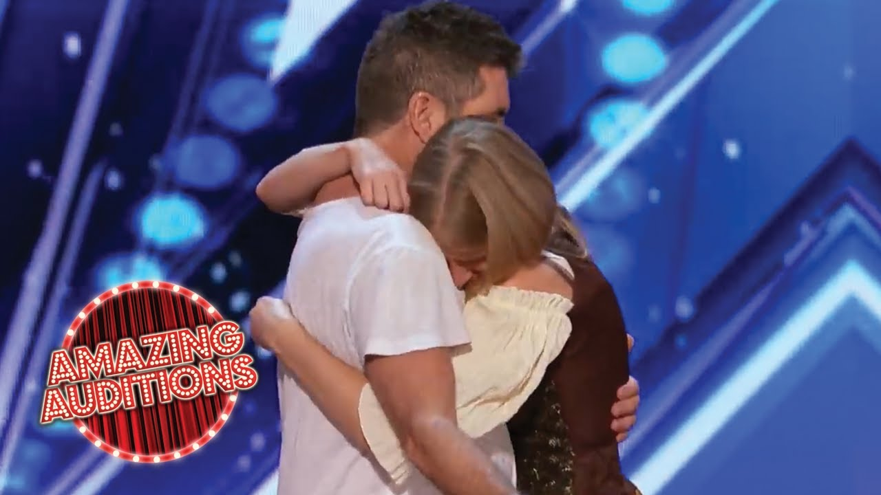 Simon Cowell SAVES This EMOTIONAL Contestant's Audition | Amazing Auditions