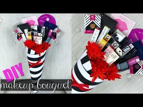DIY Makeup Bouquet   How To