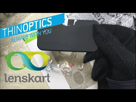 4492905f11d Unboxing ThinOptics reading glasses from lenskart.com (4K)