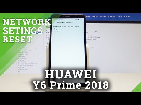 How to Restore Network Settings on HUAWEI Y6 Prime 2018 - Fix Network Settings