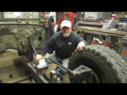 Military Rat Rod Front Suspension Install Part 4