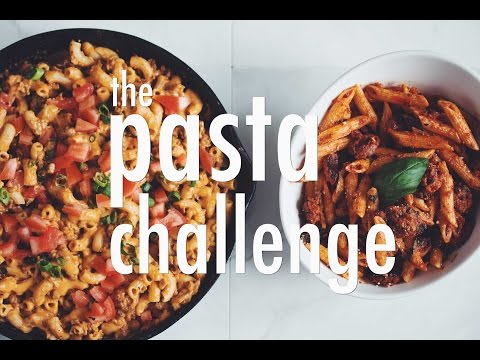 THE PASTA CHALLENGE | hot for food