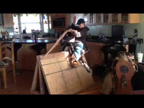 Rhett spurring board 2/2016