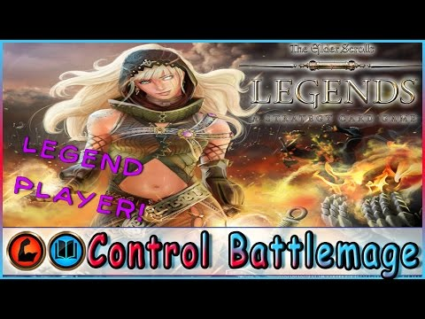 TES LEGENDS | Control Battlemage Strength Intelligence Deck | Constructed | The Elder Scrolls