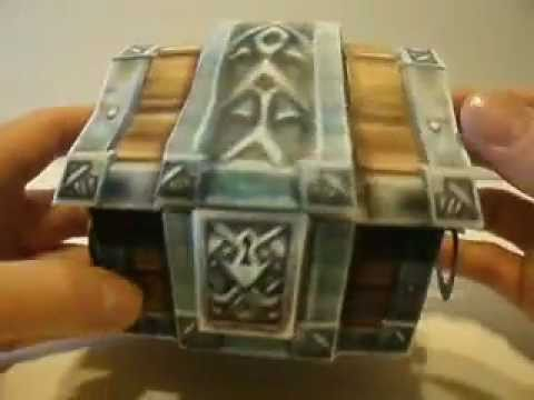 Papercraft WOW Treasure Chest