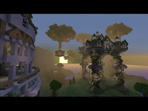 Minecraft PS3 PS4 Aandovale Grove (PC Converted Map Download)