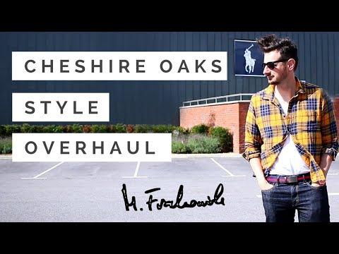 Cheshire Oaks.🍂🎁 Mens Style Overhaul.  👖👔 Designer Outlet Haul with Paul T Lajszczak