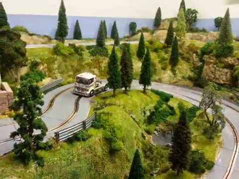 Building a rally scalextric slotcar track layout